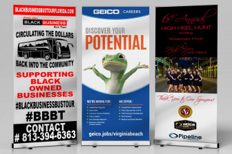 Wide Retractable Banners - Pacific 920