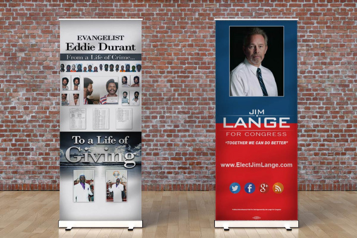 Premium Retractable Banners - Orient 800
