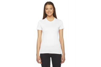 American Apparel 2102 Ladies Fine Jersey Tee
