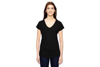 Anvil 6750 Ladies Tri-blend V-Neck T-Shirt