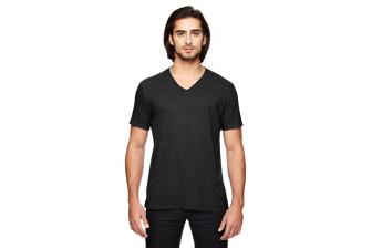 Anvil 6752 Mens Tri-blend V-Neck T-Shirt